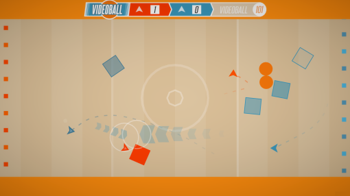 Screenshot of Videoball from Midnight-City.com